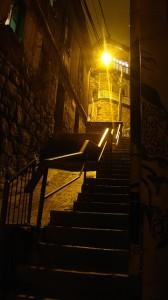 Historische Altstadt von Valparaiso.