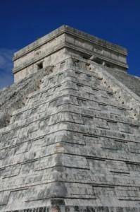 Highlight unseres Reiseberichts: Der Maya Tempel Chichen Itza © Claudia Huldi / pixelio.de