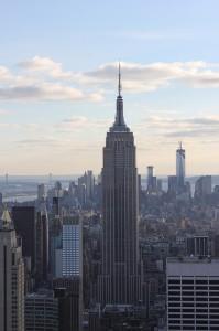Empire State Building - Das aktuell noch höchste Gebäuder New-Yorks.