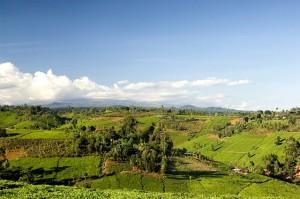 Kenias faszinierende Landschaft.