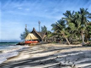 Strand und Badespaß in Kenia