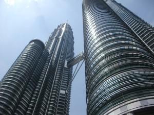 Die berühmten Petronas Towers von Kuala Lumpur © pixabay.com