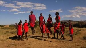 Die Massai - Afrikanischer Stamm mit Tadition.