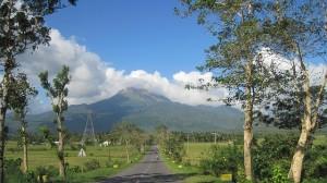 Mount-Bulusan: beeindruckender Vulkan auf den Philippinen.