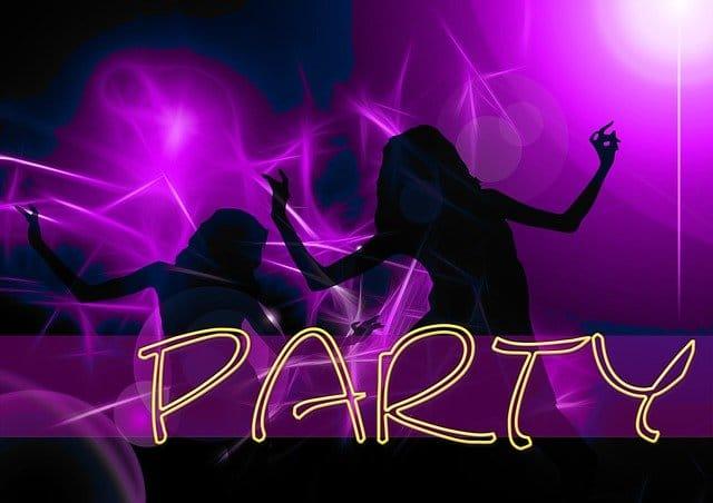 La Notte Rosa - Partyevent an der Adriaküste.