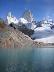 Patagonien - Blick auf die Anden.