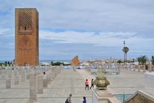 Alte Ruinen in der marokkanischen Hauptstadt Rabat.