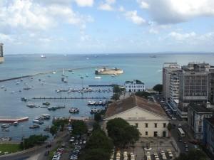 Blick über Salvador da Bahia.