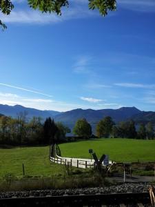 Beeindruckende Landschaft am Tegernsee.