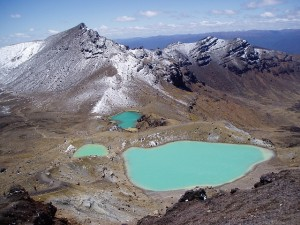 Der Tongariro-Nationalpark in Neuseeland.