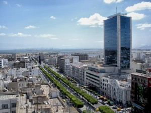 Tunis - die Hauptstadt Tunesiens.