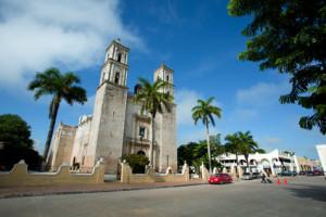 Die Kirche der Stadt Valladolid (Mexiko) - © © dmitry_saparov - Fotolia.com