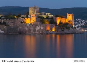 Die sehenswerte Burg von Bodrum.