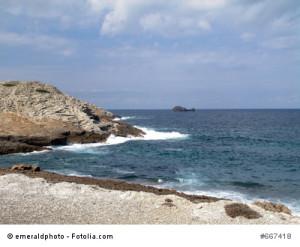 Die Cala Mitjana auf Mallorca.