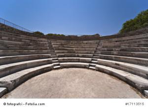Odeon - Architektur auf Kos