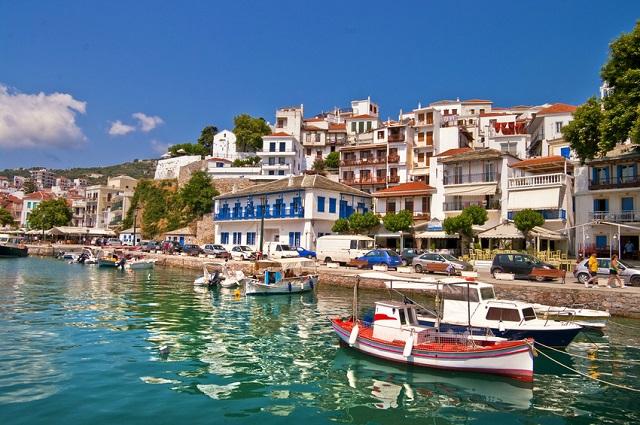 Skiathos Urlaub - Entspannen auf der griechischen Ferieninsel © Freesurf - Fotolia.com