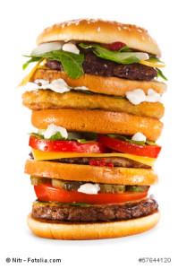Fastfood in den USA - größer, dicker, kalorienreicher