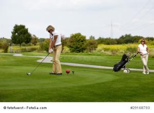 Golfclub Urlaub in Cervia an der Adriaküste.