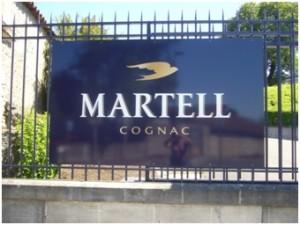 Cognac-Marke Martell.