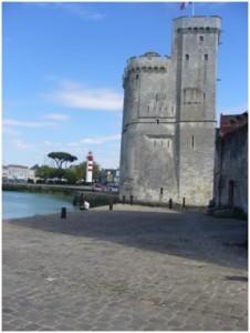 Der Hafen von La Rochelle.