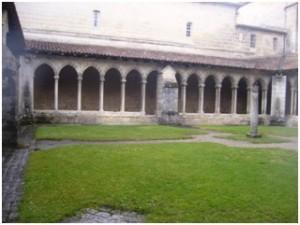 St. Emilion - Kreuzgang