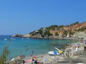 Badeurlaub auf Ibiza.