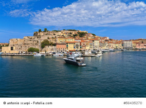 Urlaub machen auf der schönen Mittelmeerinsel Elba.