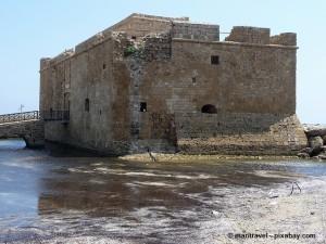 Festung Paphos auf Zypern.