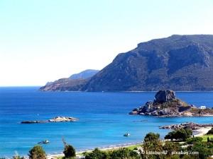 Mittelmeerurlaub auf der Insel Kos.