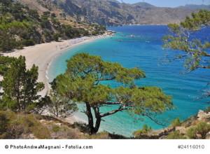 Insel Karpathos.