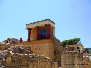 Knossos auf Kreta.
