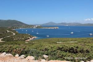 Tolle Landschaft auf Sardinien.