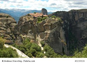 Die beeindruckende Klosteranlage Meteora.