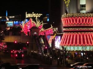 Unterwegs auf dem berühmten Las Vegas Strip.