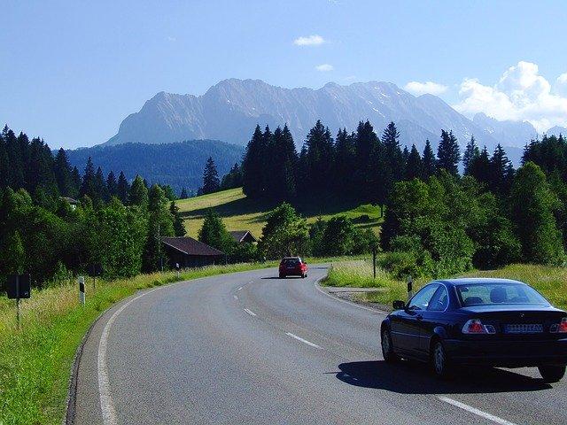 In Bayern auf dem Weg nach Italien - Alpenpanorama © pixabay.com