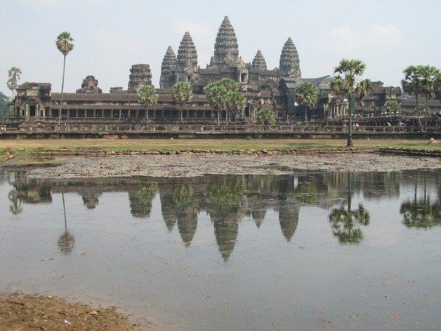 Angkor Wat - Tempelanlage im Dschungel. © pixabay.com