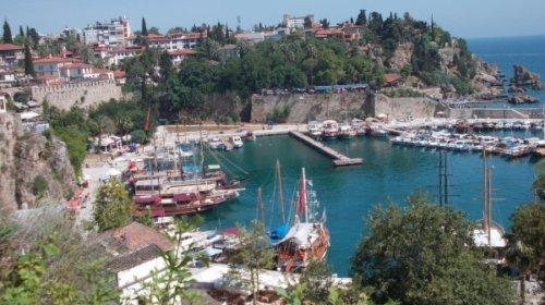 Hafen an der türkischen Riviera