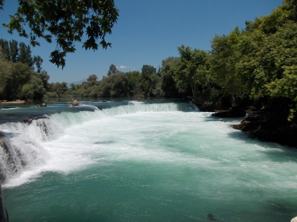 """Der """"große"""" Manavgat Wasserfall."""
