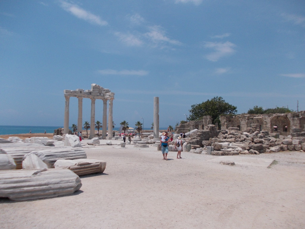 Side-Tempelruinen