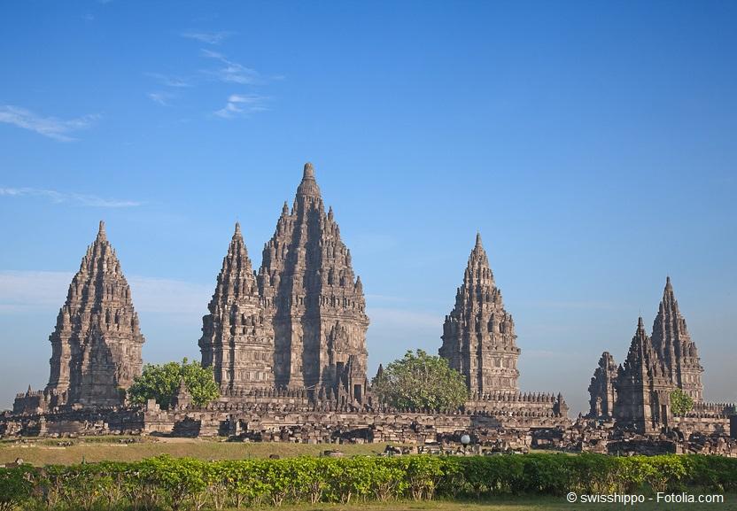 Beeindruckend: Der Tempel von Prambanan.