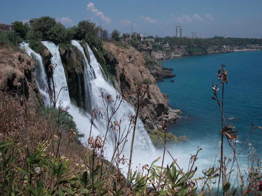 Der Wasserfall in Antalya.