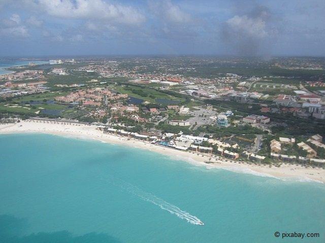 Aruba - die erste der ABC-Inseln.