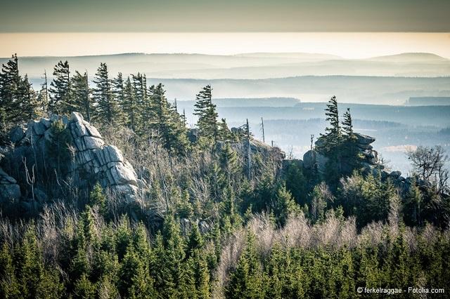 Hohneklippen Wernigerode - Nur eines der vielen Ausflugsziele am Harz.