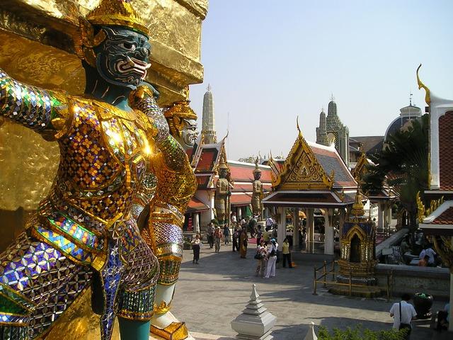 Der goldene Königspalast von Bangkok © pixabay.com