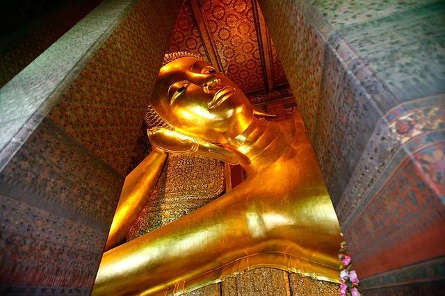 Der beeindruckende Wat Po Tempel © pixabay.com