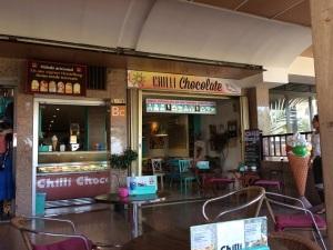 Das Chili Chocolate - die beste Eisdiele Morro Jables.