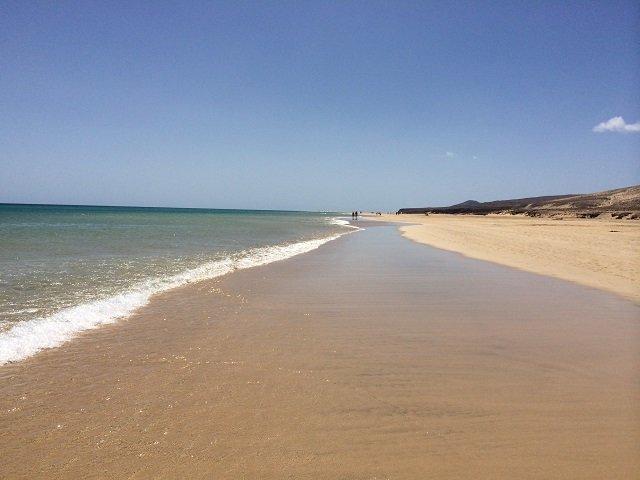 Die traumhafte Playa Barca im Süden Fuerteventuras.