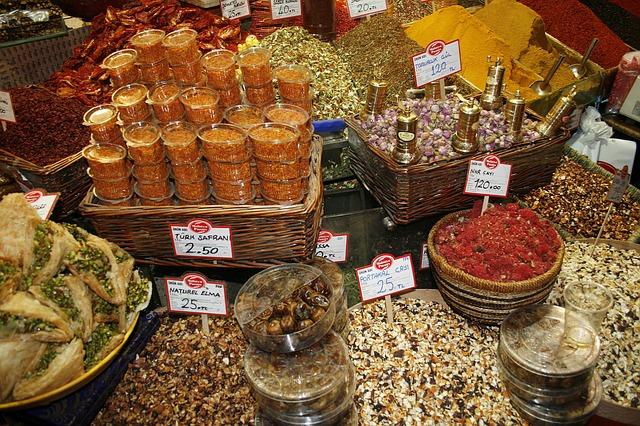 Basare in Istanbul - Für jeden Urlauber einen Besuch wert! - Bildquelle: © pixabay.com