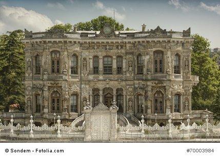 Der Beylerbeyi Palast.
