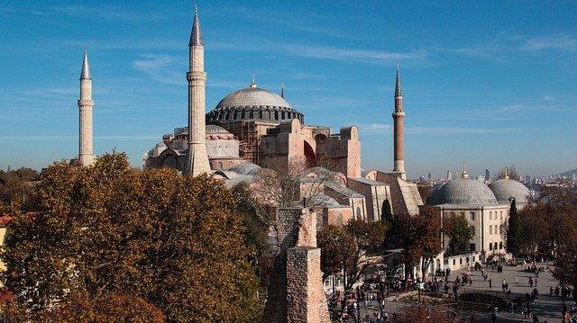 Gotteshaus mit Weltruhm: Die Hagia Sophia.